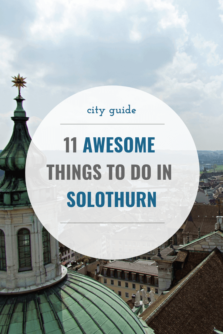Solothurn is a beautiful little city in northwestern Switzerland. It has tons to offer and if you're after a charming Swiss city off the beaten tourist track, make sure you don't skip it while you're here.