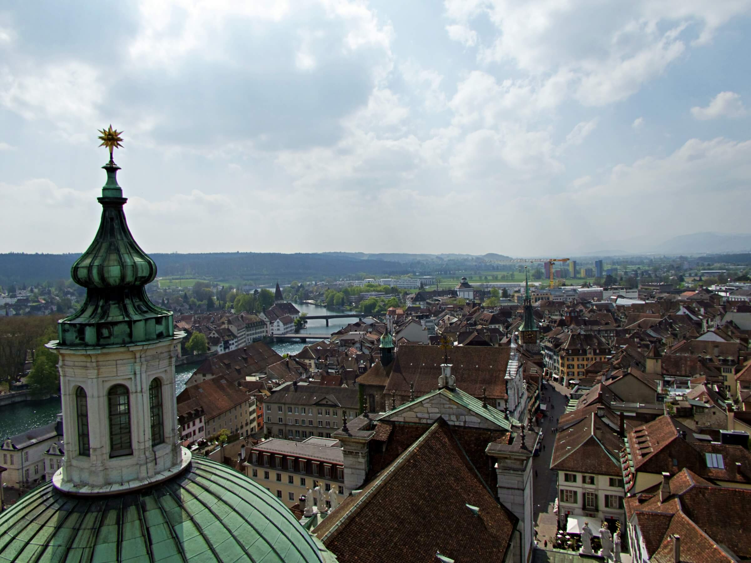 Climb the tower of St. Ursus Cathedral to enjoy great views over the city.