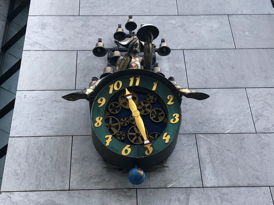 There's a clock in Solothurn that only counts 11 hours.