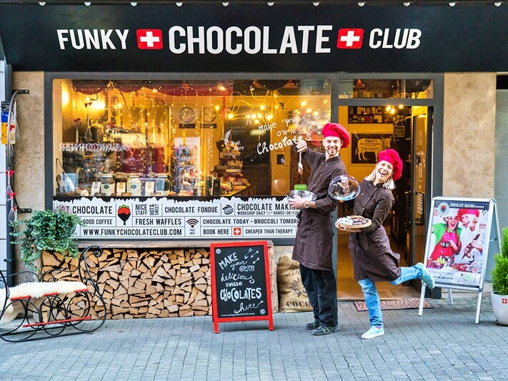 Funky Chocolate Club in Interlaken