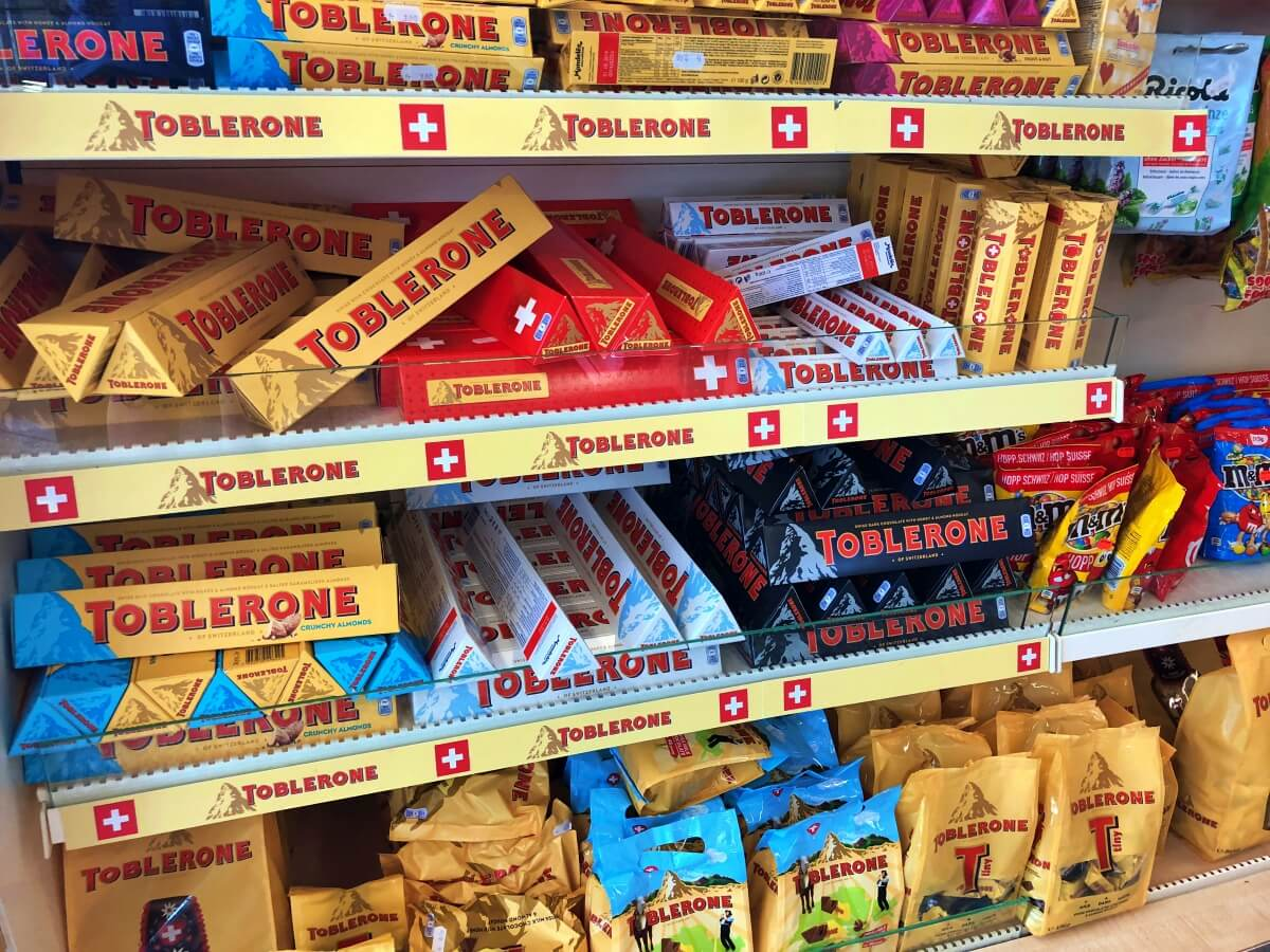 Unlike many other chocolate producers, Toblerone is completely closed off to the public.