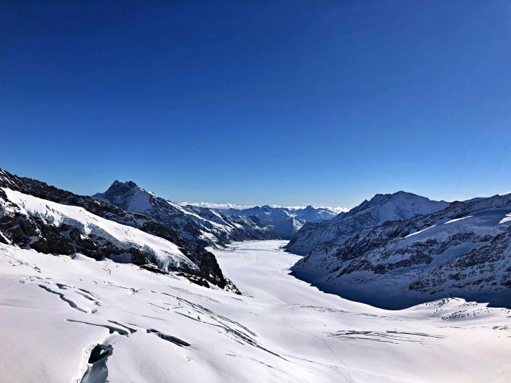 Jungfraujoch is the world's highest railway station