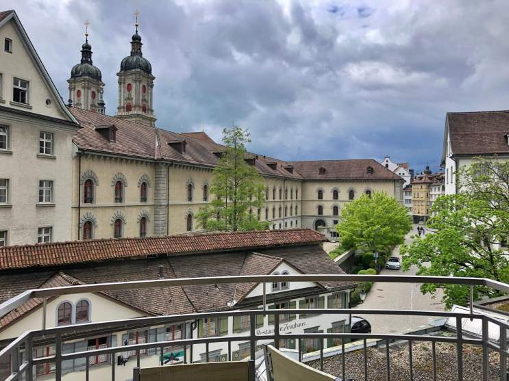 Old town St. Gallen