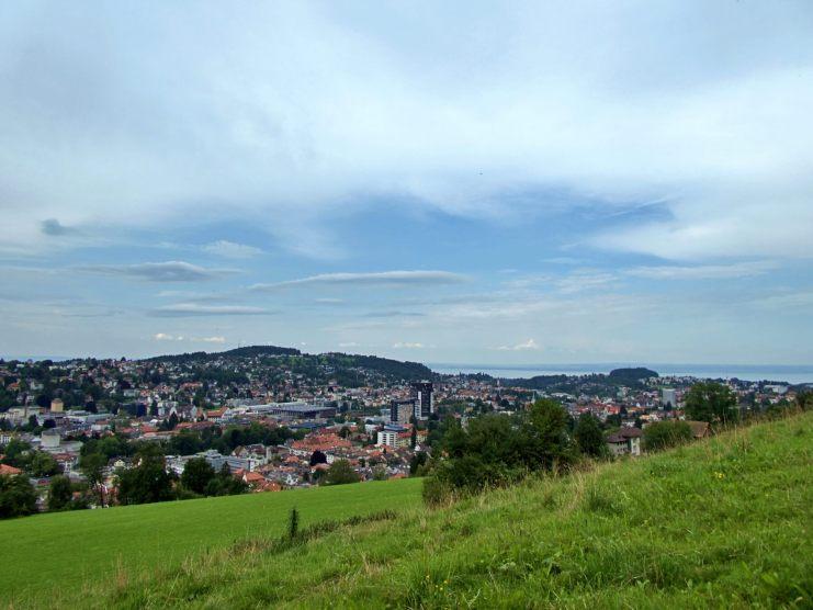 view over St. Gallen