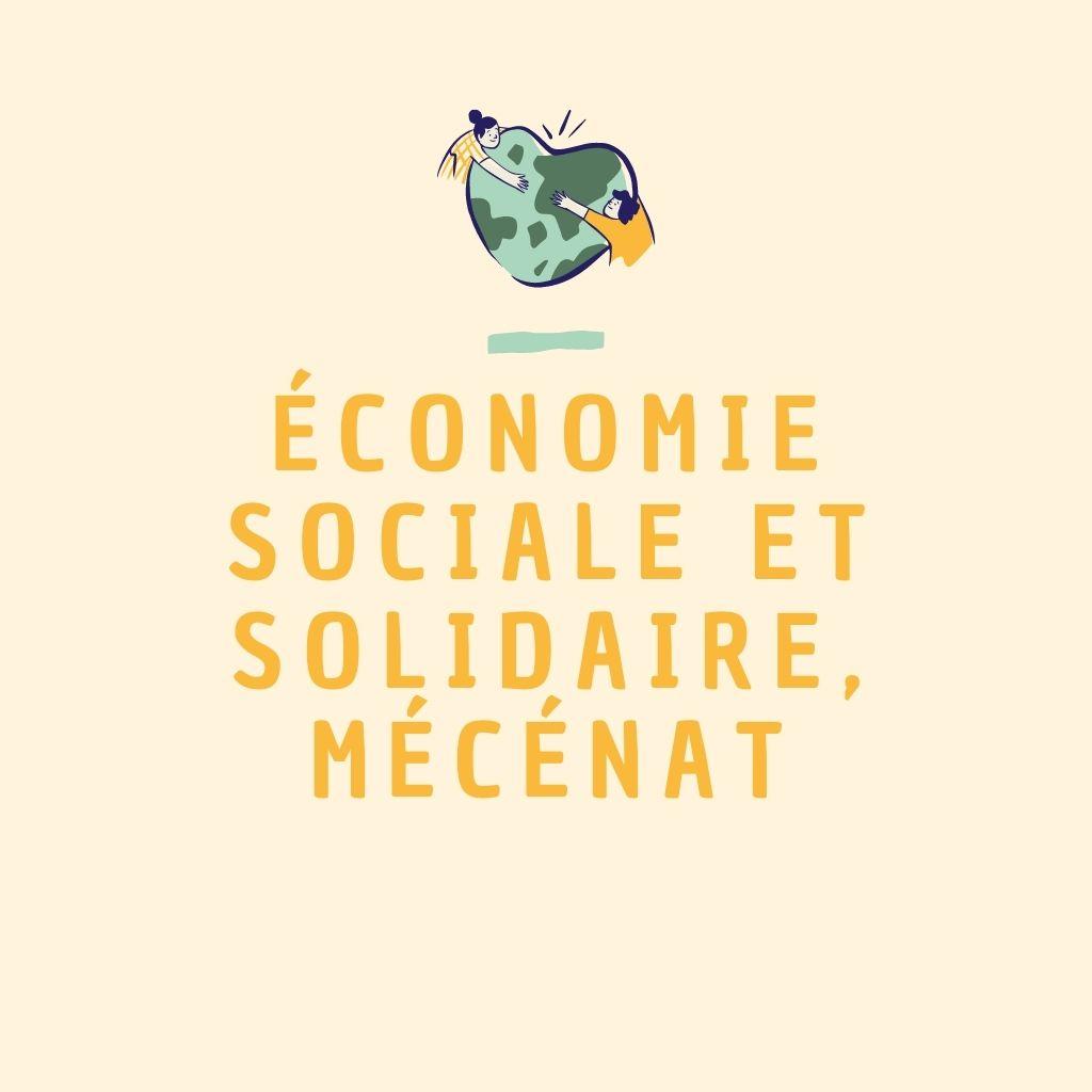 Economie sociale et solidaire, mécénat