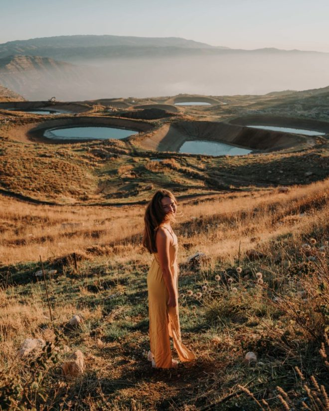 Best Places in Lebanon Akoura lakes