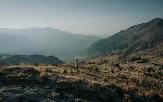 Lebanon mountains girl