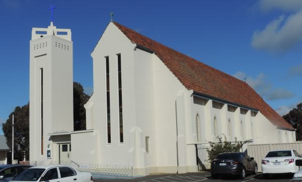 St Patrick's roman catholic church lost katanning today