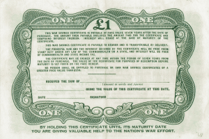 War Savings Certificates
