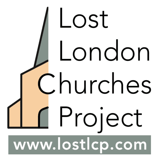 Lost London Churches Project - logo unboxed