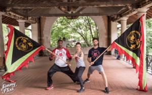 Jun Mo Wing Chun Kung Fu Flags