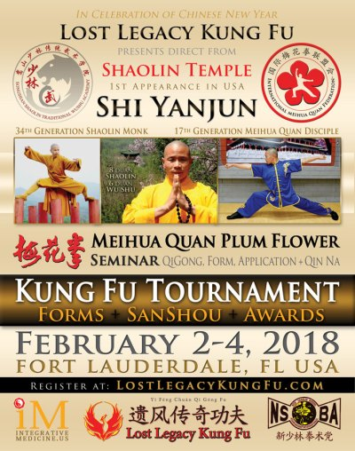 Ft Lauderdale Kung Fu Tournament Feb 2018