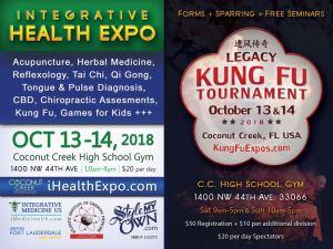 Coconut Creek Kung Fu Tournament & Integrative Health Fair