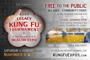 Legacy Kung Fu Tournament Coral Springs FL 2019