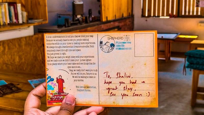 Shepherd Stories| Cultural hostel in Hyderabad