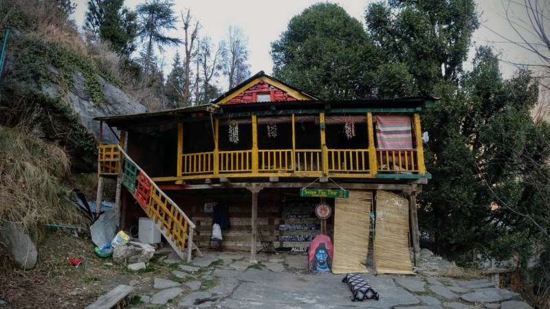 Rusty, Sturdy Up Above The Hills | Seize The Time – HomeStay Old Manali