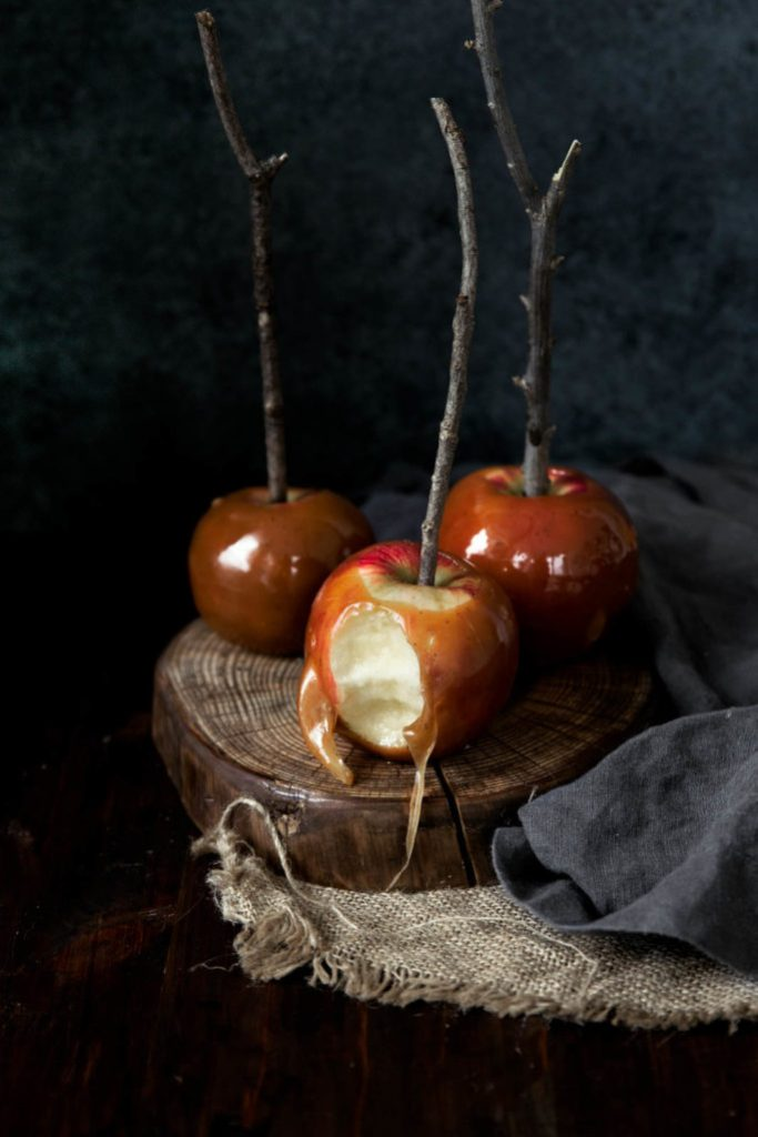 Brown Butter Caramel Apples