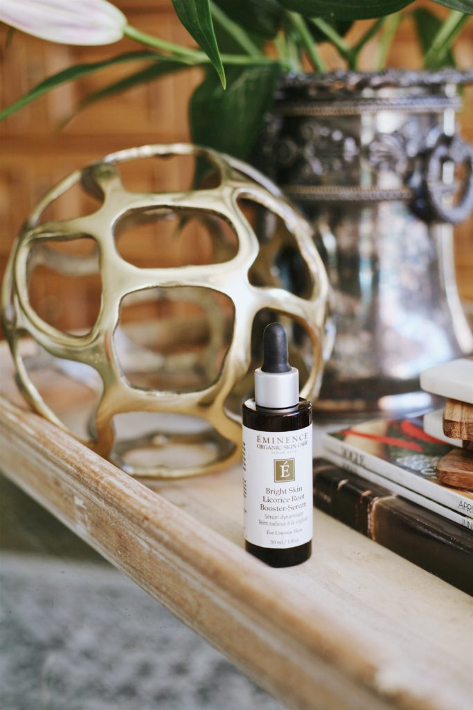 Eminence organics licorice root serum for bright clear skin