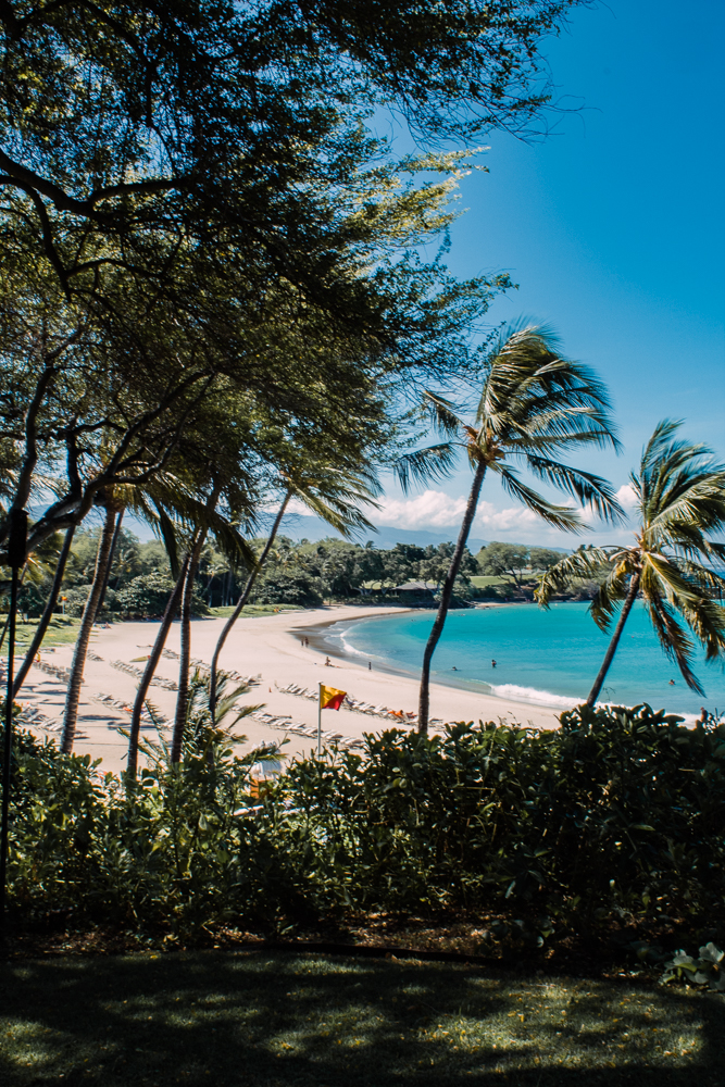 Big Island Hawaii Hapuna Beach