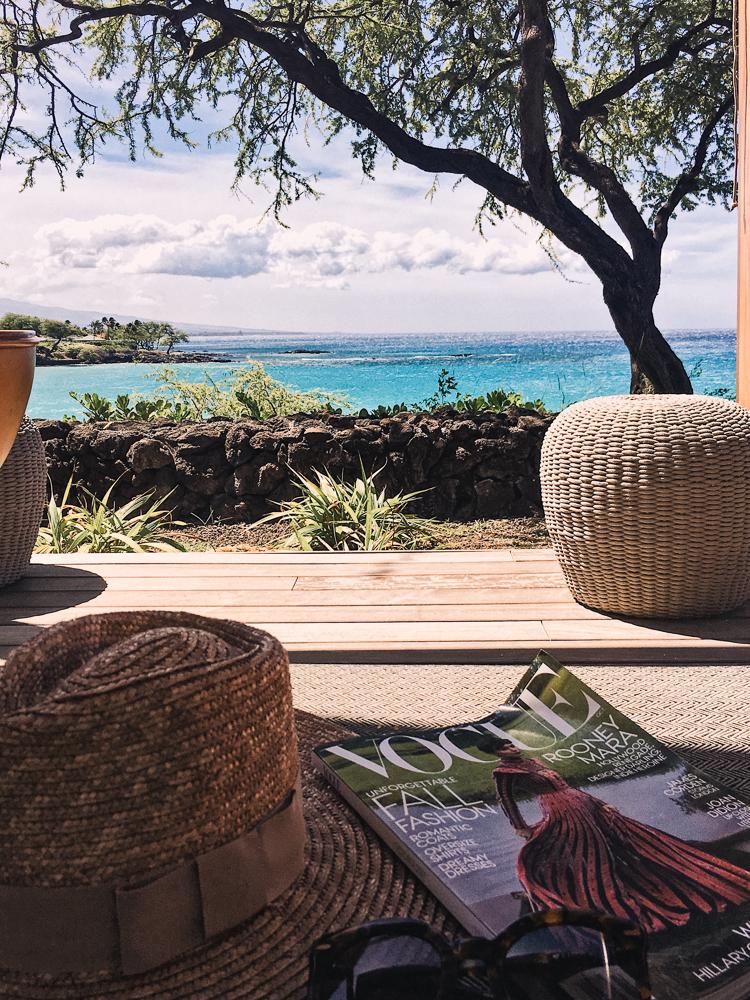 Relaxing at Mauna Kea Resort Hawaii