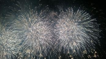 Adachi-ku Natsumatsuri Feuerwerk