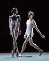 Olivia Cowley and Edward Watson rehearsing Qualia 4