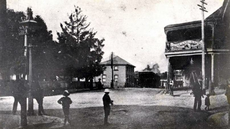 Wallsend Tram Terminus c1870s photo from Lost Newcastle member