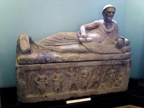 Museo Tarquinia - Sarcófago del Magistrado