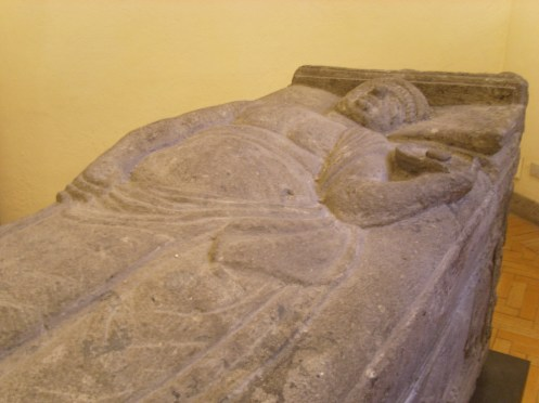 Tarquinia - Sarcófago de Larth Verstarcnies