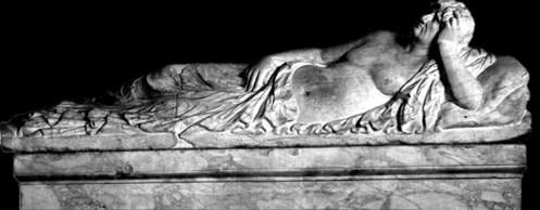 Tarquinia - Sarcófago del Obeso