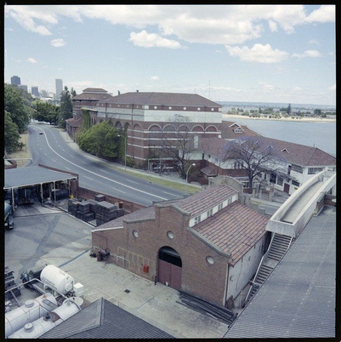 Swan Brewery, Perth including the old stables, 13 November 1978b