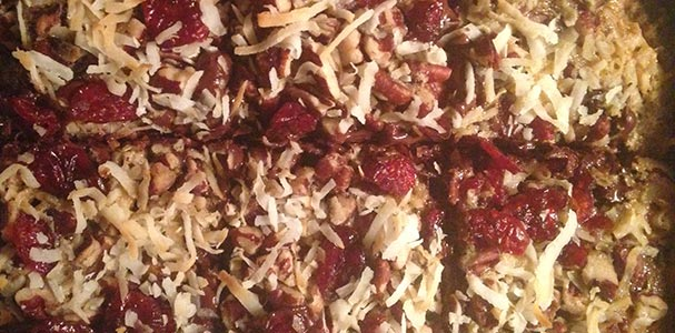 Image of Gooey Holiday 7 Layer Bars
