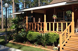 Image of The office front porch at Sun Roamers