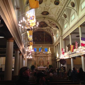 Image of Inside Saint Louis Cathedral