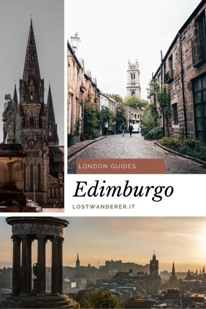 Edimburgo pin per pinterest