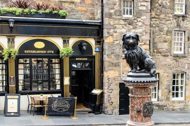 Greyfriars Bobby, uno dei simboli di Edimburgo