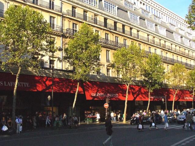 Galerie Lafayette a Parigi