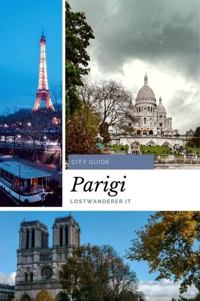 Parigi guida di viaggio pin per pinterest