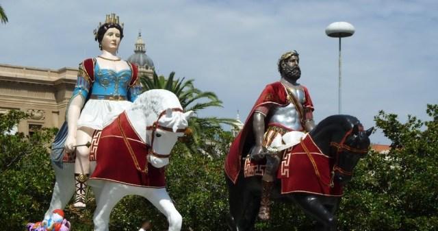 Mata Grifone, Messina, folklore