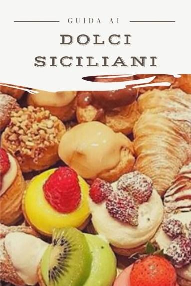 Guida ai dolci tipici siciliani pin per pinterest