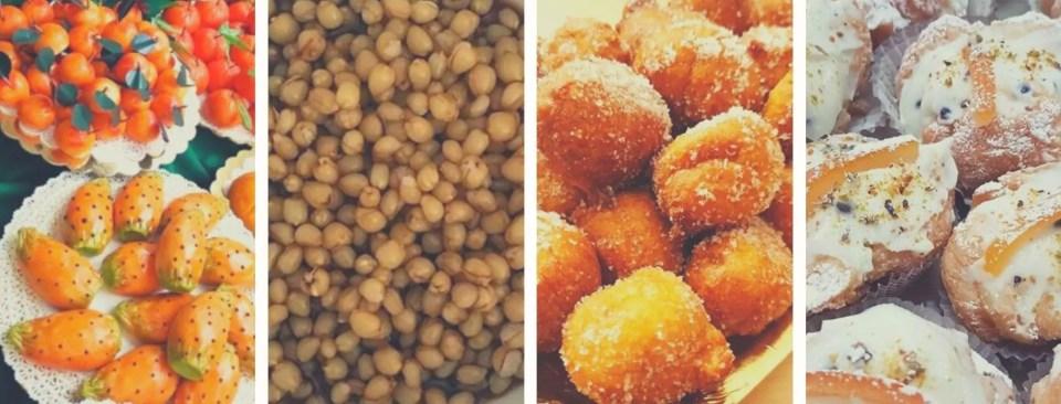 Frutta marturana, cuccia, sfinci e sfincione: i dolci stagionali