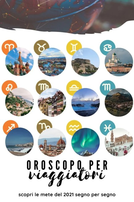 Pin per Pinterest Oroscopo per viaggiatori
