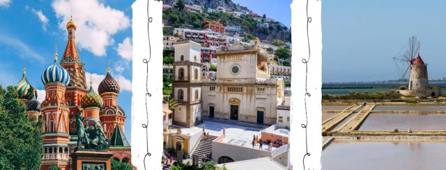 Oroscopo per viaggiatori: le mete dei segni di fuoco sono Mosca, Costiera Amalfitana e Sicilia