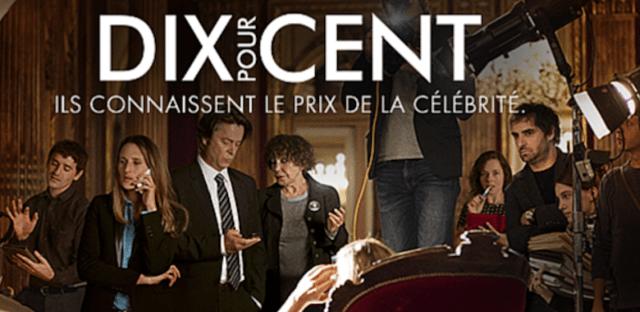 Locandina di Dix pour cent - Chiami il mio agente - serie Netflix per imparare la lingua francese