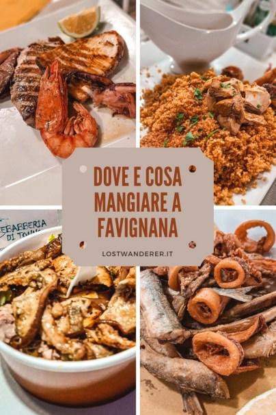 Dove e cosa mangiare a Favignana pin