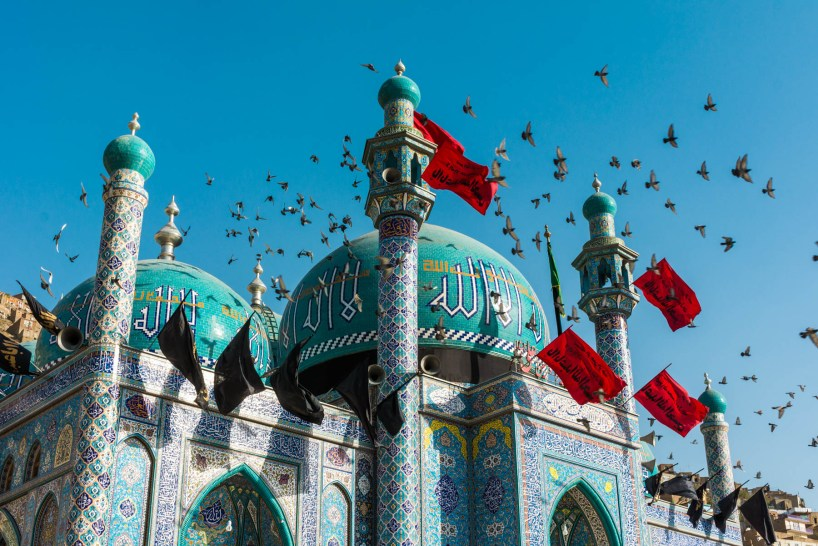 A Shia shrine in Kabul, Afghanistan - Lost With Purpose