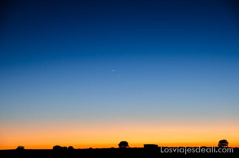 observando el cosmos Venus y Mercurio