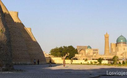 Bukhara ruta de la seda