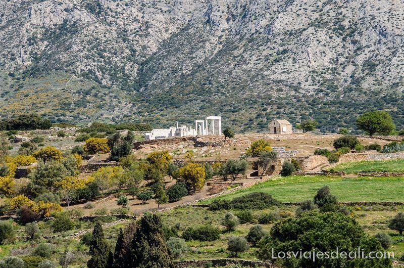 senderismo y arqueologia en la isla de Naxos