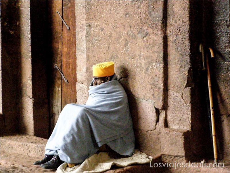 monje de Lalibela en Gentes de África
